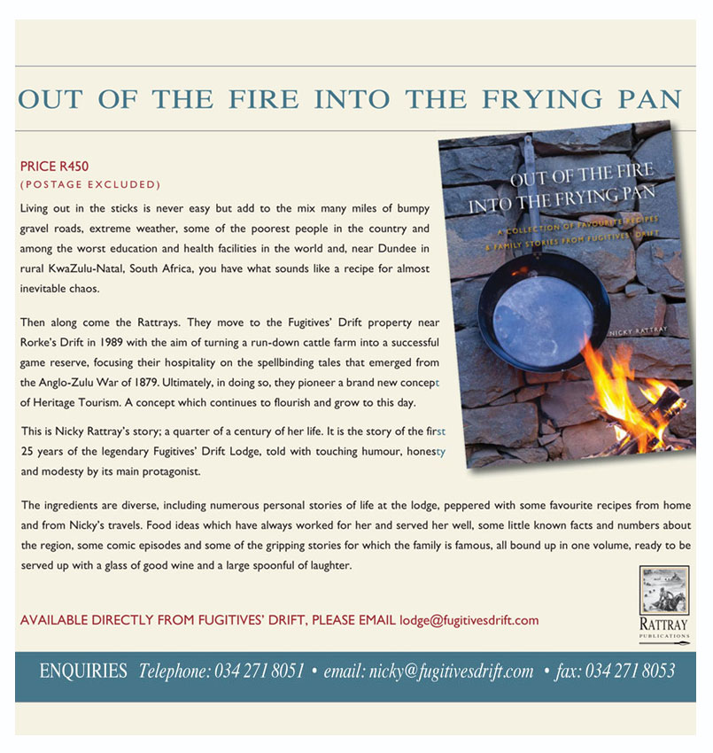 Out of the Fire into the Frying Pan
